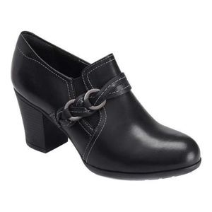Rockport M79756 Catriona Leather Braid Bootie